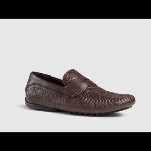 Gucci Signature Driver Loafers Size 9.5